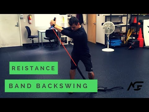Resistance Band Backswing