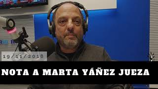 Baby Etchecopar - Nota A Marta Yáñez jueza