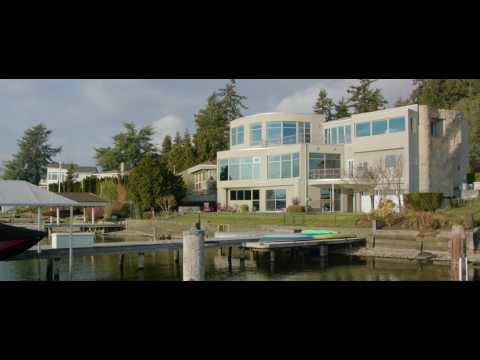 Modern Waterfront on Kirkland's coveted Champagne Point