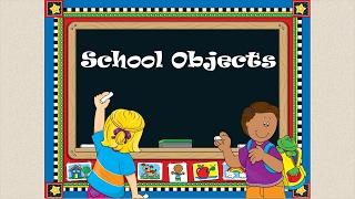 Английский видео-словарь.Школьные принадлежности на английском языке.