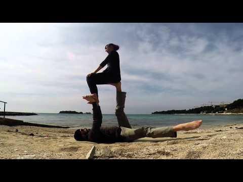 acro yoga warm up exercises