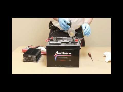 Scissor Lift Battery and Charger How-To by Hy-Brid Lifts