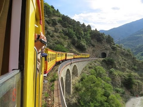 SNCF's Yellow Train Part 2 Villefranche to Latour de Carol 17 September 2014
