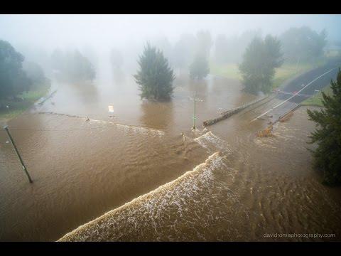 Bathurst Flood July 2016 (low level bridge)