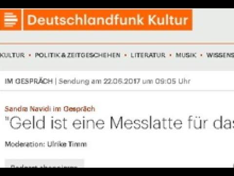 """Sandra Navidi: Deutschlandfunk Interview #SuperHubs: """"Wir sind auf dem Weg in die nächste Krise"""""""
