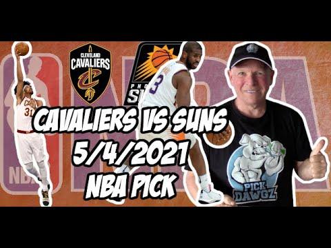 Cleveland Cavaliers vs Phoenix Suns 5/4/21 Free NBA Pick and Prediction NBA Betting Tips