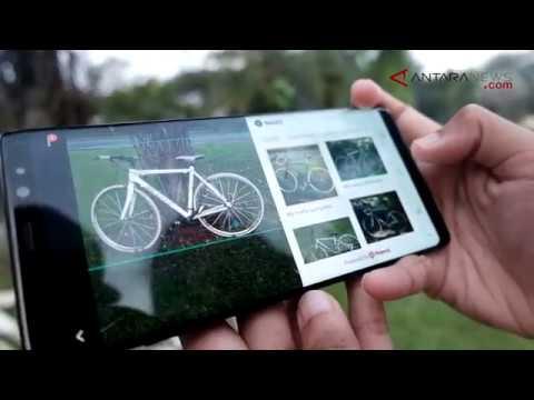 ANTARANEWS - Mencoba S Pen dan Bixby Vision Samsung Galaxy Note 8