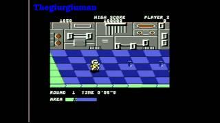 Commodore 64 Personal Computer games - Metro Cross