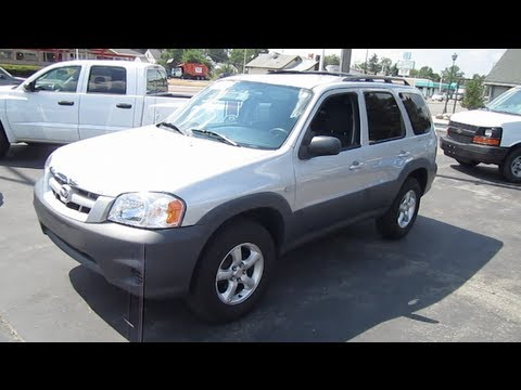 2006 MAZDA TRIBUTE Walk Around Tour And Review 2WD