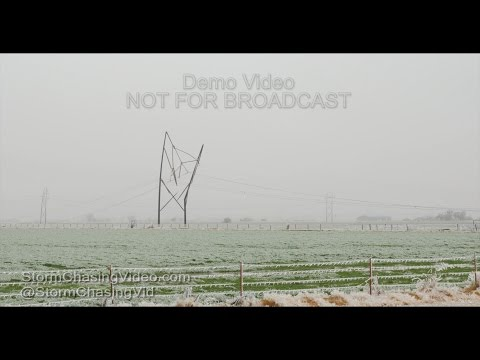 Canadian County, Oklahoma Ice Storm Aftermath - 11/29/2015