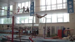 Спортивная гимнастика 3 разряд Калашникова Мирослава брусья