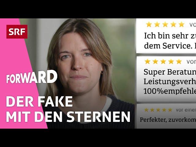 Fake-Bewertungen – Der grosse Schwindel auf Google | Forward | SRF Impact