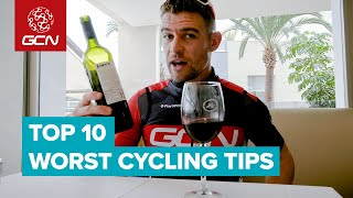 Worst Road Cycling Advice Ever | 10 Things Cyclists Should Never Do