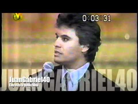 Juan Gabriel - Entrevista Venezuela 1991