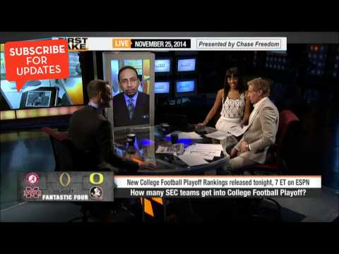 First Take - How Many SEC Teams Make the College Football Playoff?