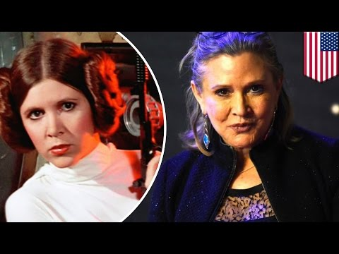 Thumbnail: Carrie Fisher dead at 60: Famed Star Wars actress dies following heart attack on plane - TomoNews