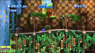 Sonic Generations - Green Hill Acte 1 - Défi 5 : Défi à grande vitesse