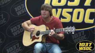 "103.7 WSOC - Walker Hayes performs his single ""Wax Paper Cups"""