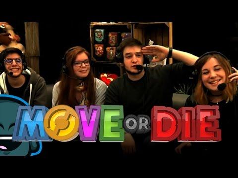 Soirée Fun : Move Or Die - Caelan, Naho, Raf & Aayley