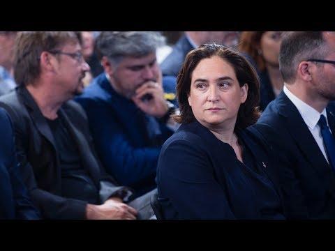 Critican a Ada Colau por la Seguridad en Barcelona