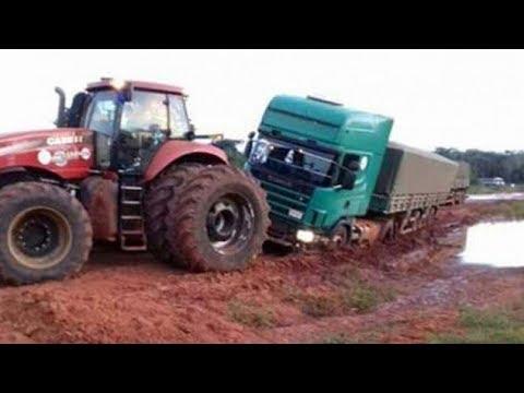 Tractors Stuck in Mud 2018