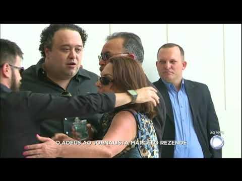 Percival de Souza presta a sua última homenagem a Marcelo Rezende