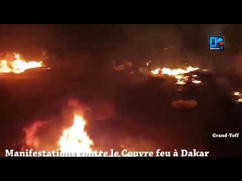 Dakar se rebelle contre le couvre feu