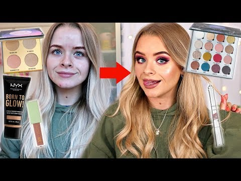 GRWM- TESTING NEW IN MAKEUP, SKINCARE ROUTINE, HAIR thumbnail