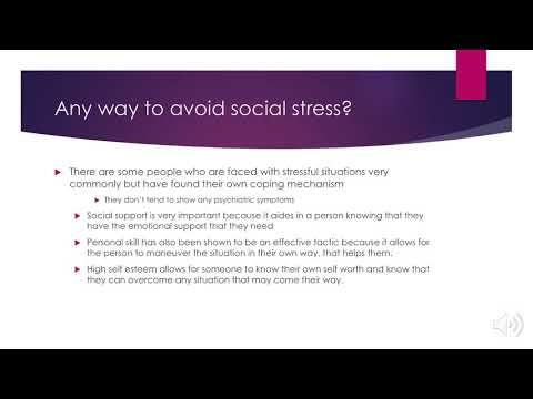 social stress