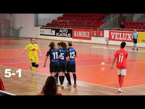 SL Benfica (7) - FC Vermoim (1)