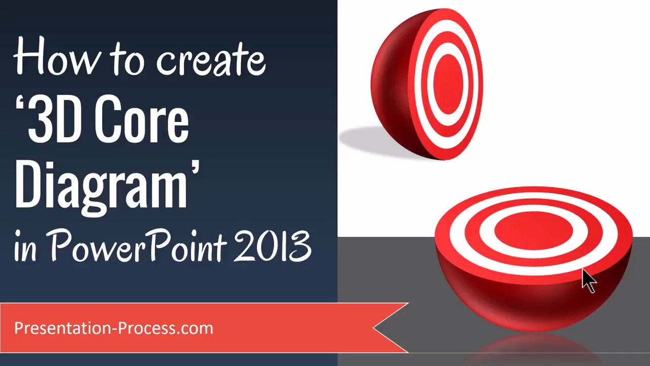 How to create 3d core diagram in powerpoint 2013 youtube ccuart Gallery