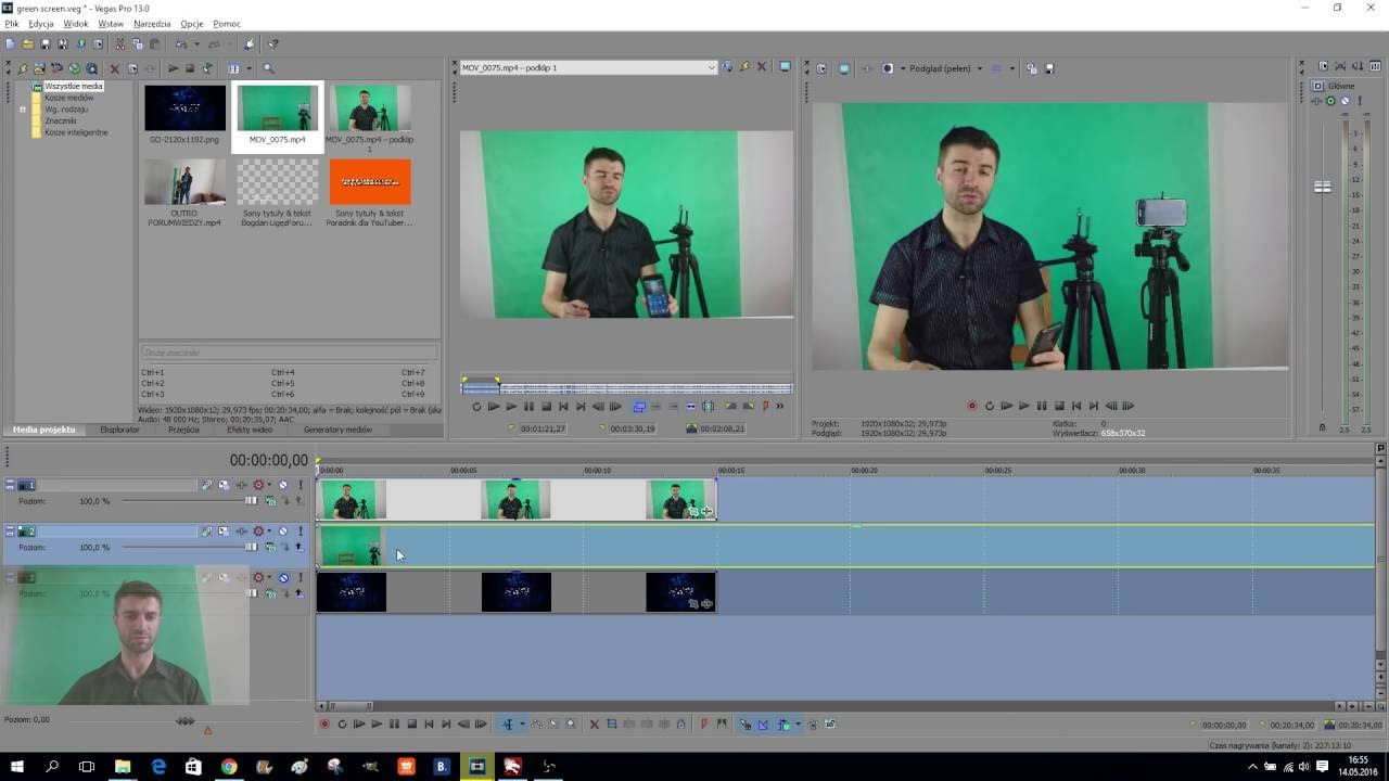 how to use sony vegas pro 13