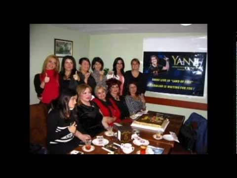 """Azerbaijany Fans' Party for Yanni Birthday """" 12.11.2012"""" - """"Cheers for Yanni """""""