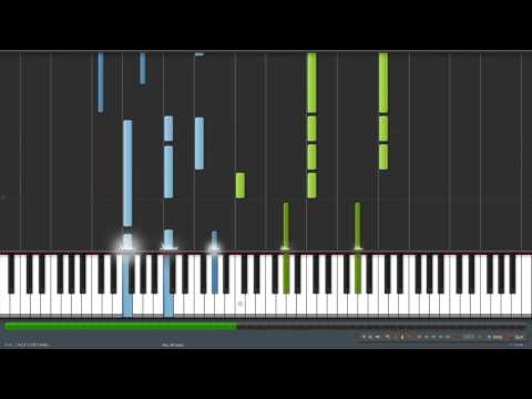 Ao no Exorcist - Blue Piano Synthesia