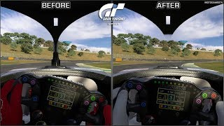 Gran Turismo Sport - Halo in Dallara Super Formula Cars - Before and After Patch 1.53