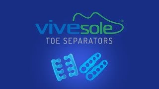 Toe Separators by ViveSole - Best Gel Pedicure & Toe Spreaders For Bunions, Yoga, Overlapping Toes