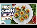 Cheeseburger Meatball Bites || Easy 10 Minute Appetizer