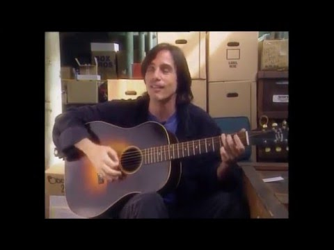Jackson Browne ~ On Writing Take It Easy (with acoustic performance)