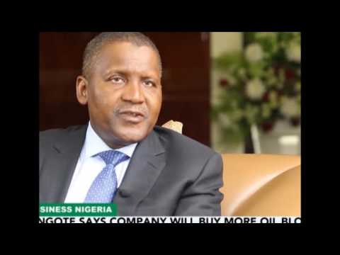 Dangote Talks Oil and Gas Business