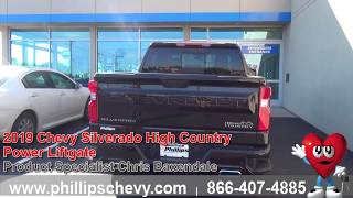 Phillips Chevrolet - 2019 Chevy Silverado High Country - Power Liftgate
