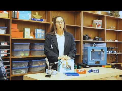 Josie Michaud Discusses All Saints STEAM Academy's Middle School Tech Program