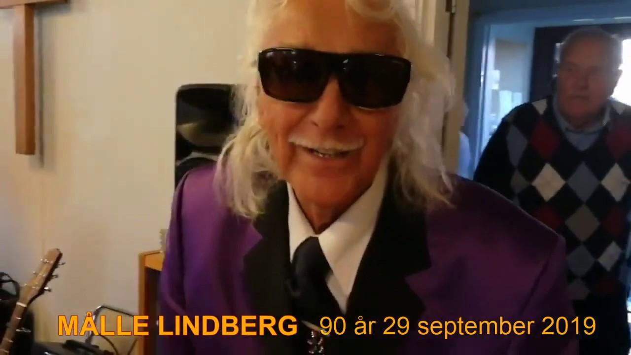 Målle Lindberg fyller 90.