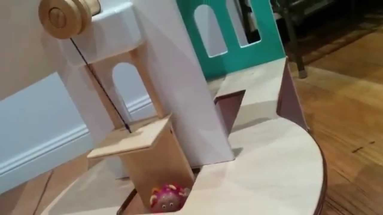 how to build a dollhouse elevator