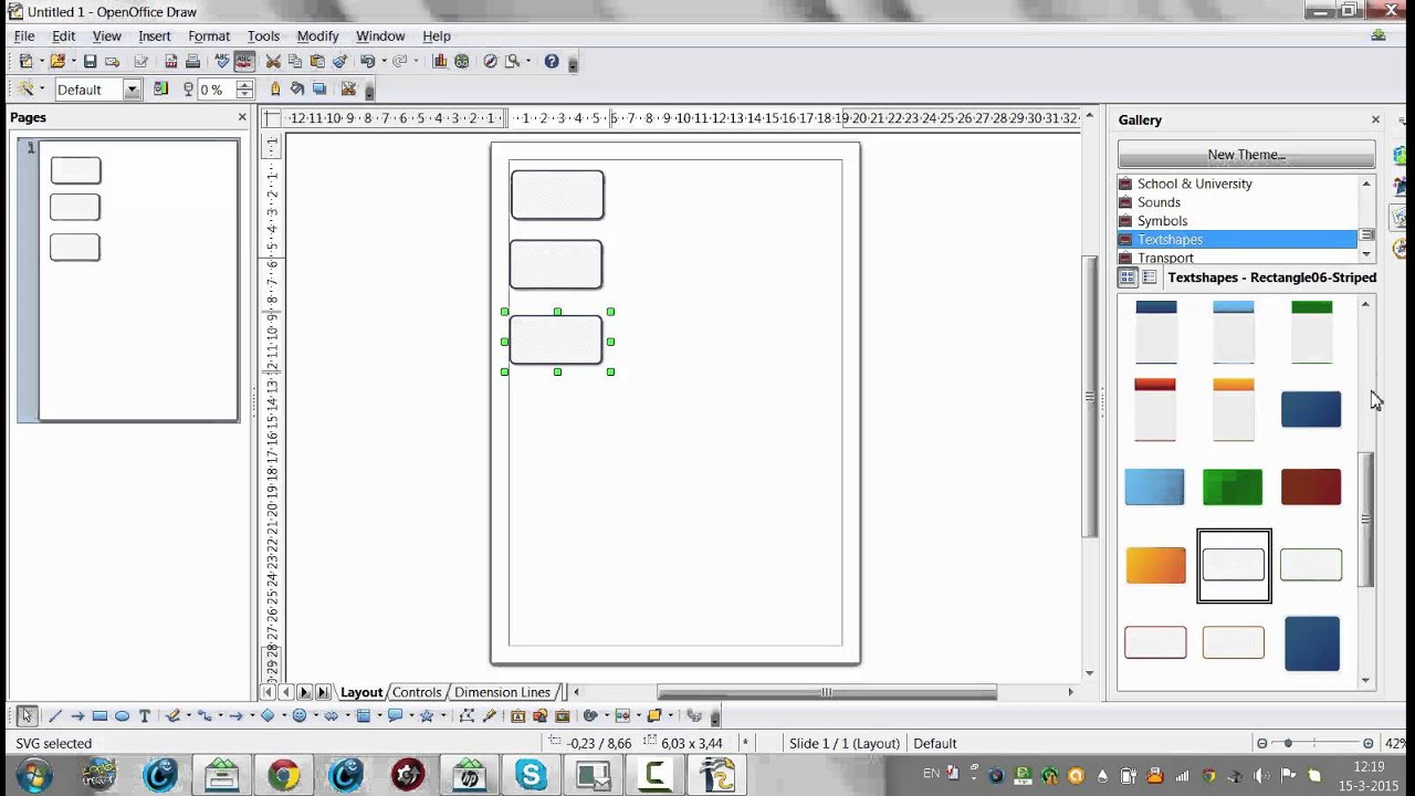Drawing diagrams in pages - How To Use Open Office Draw To Create Diagrams And Organograms