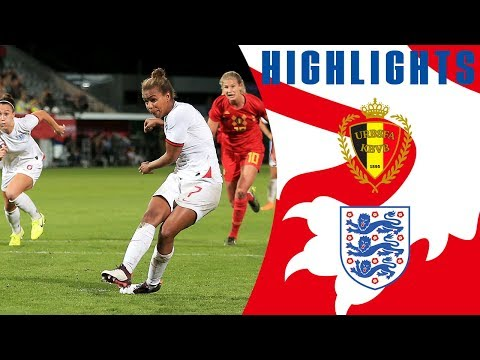 Belgium 3-3 England | Late Nikita Parris Goal Earns Lionesses Draw | Official Highlights