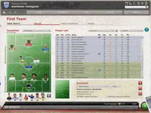 Football Manager 2010 Cyprus League Patch