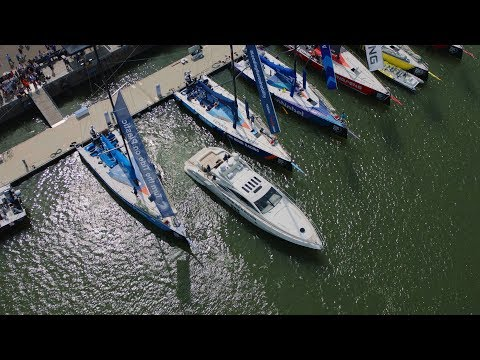 Live demo of a self-docking yacht by Volvo Penta