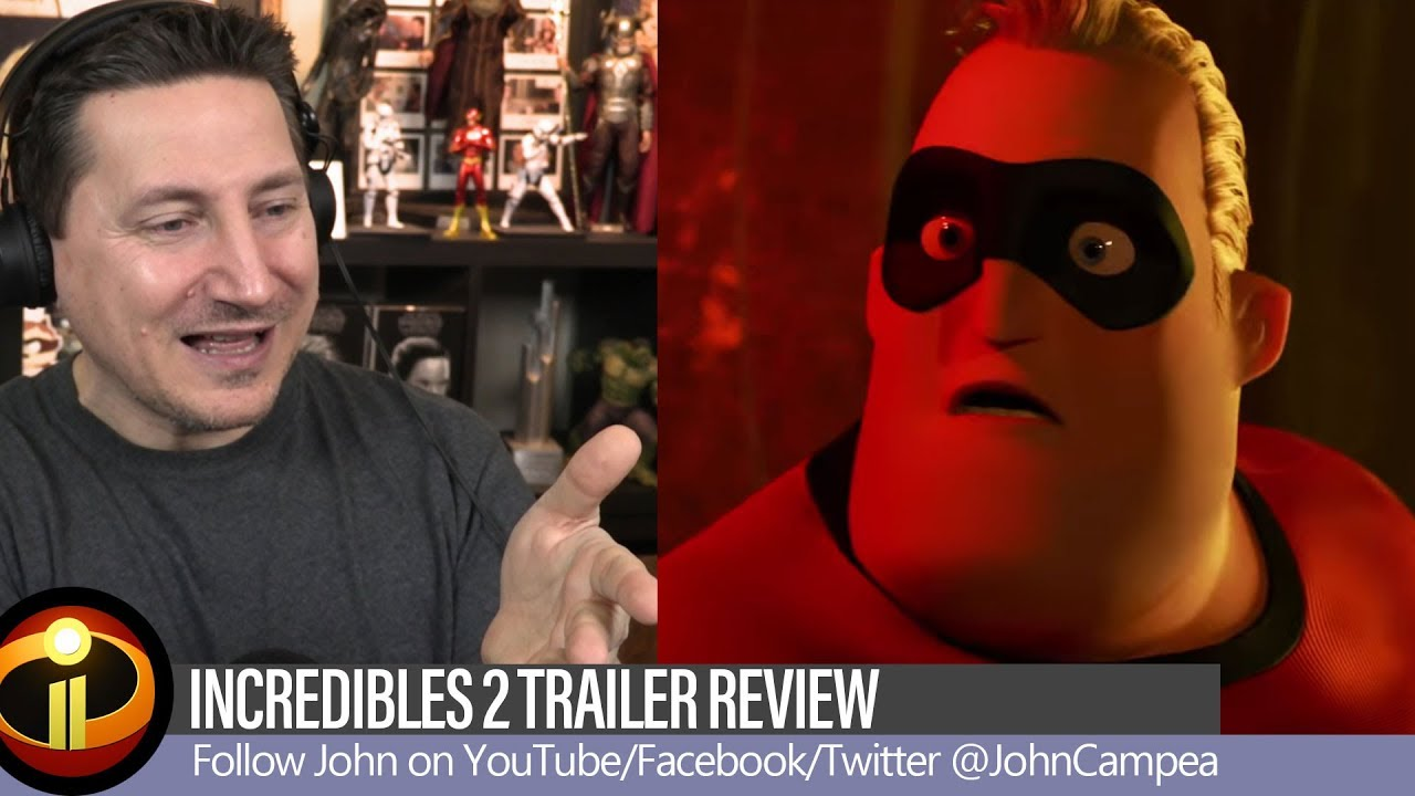 Incredibles 2 Trailer Review And Breakdown - YouTube