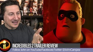 Incredibles 2 Trailer Review And Breakdown