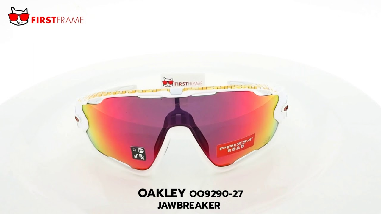 6228193e01 OAKLEY OO9290-27 JAWBREAKER TOUR DE FRANCE - YouTube
